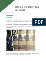 Clasificación del Derecho y sus Diferentes Ramas.docx
