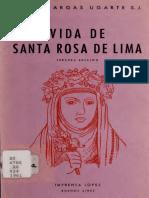 Vargas Ugarte - Vida de santa Rosa de Lima.pdf