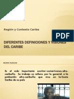 DIFERENTES DEFINICIONES Y VISIONES DEL CARIBE - copia
