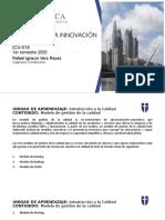 CLASE 6 - Modelos de gestion de la calidad -  ICV 515 2020