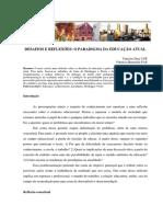 aula 1 - DESAFIOS E REFLEXÕES - O PARADIGMA DA EDUCAÇÃO ATUAL