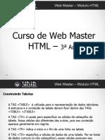 HTML - Tabela - Formulario