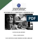 suicidio en la republica dominicana