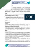 ESPECIFICACIONES TECNICAS QUECHCAP