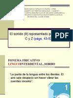9 FONEMA INTERDENTAL SESEO CECEO