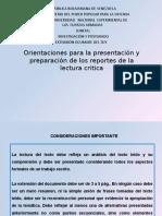 ORIENTACIONES PARA PRESENTAR LAS LECTURAS CRITICA[27]