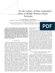 Data Acquisition Latency