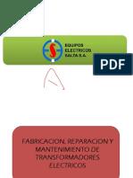 Presentacion TRANSFO EESSA