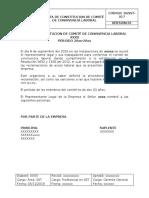 SGSST-017 ACTA DE CONSTITUCION DE COMITÉ DE CONVIVENCIA LABORAL