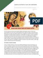 cssr.news - La mirada contemplativa de María Icono de realidades convergentes