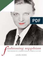 (Between Men-Between Women_ Lesbian & Gay Studies) Laura L. Doan - Fashioning Sapphism_ the origins of a modern English lesbian culture-Columbia University Press (2001)