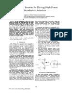PWM Inverter for HP US Actuators