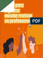 DICAS PARA O GESTOR MOTIVAR EQUIPE DE PROFESSORES