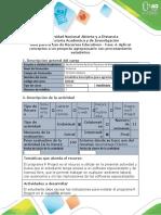 Guía para uso de recursos educativos - Fase 4. Aplicar conceptos a un proyecto agropecuario con procesamiento estadístico.docx