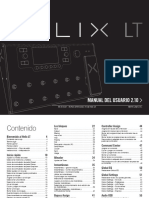 Helix LT Owner's Manual - Spanish
