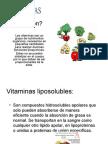 Biologia PPT - Vitaminas em Espanhol