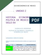 CONTEXTO SOCIOECONÓMICO DE  MEXICO