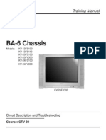 SONY TV BA6 Chassis Training Manual(CTV30)