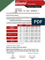 PAQUETES CLARO LDI 00444 –EMPRESAS Y NEGOCIOS
