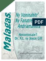 Malagasy Ny Voninahitr'  NY Fanatrehan'  Andriamanitra