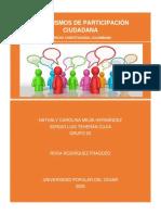 MECANISMOS DE PATICIPACIÓN CIUDADANA - COLOMBIA