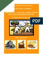 """Especial """"Otros Cereales"""" - Índice de Nutrición y Recetas de Cocina ORI Optmz Libre Draw--+"""