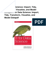 2PDF R for Data Science Import Tidy Transform Visualize and Model Data