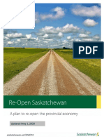 Re-open Saskatchewan plan