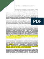 DEPORTE, ETICA Y VALORES EN LOS ENTRENADORES