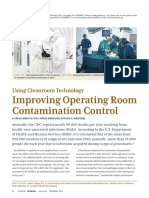 Using Cleanroom Technology Improving Operating Room Contamination Control - ASHRAE Journal - February 2014