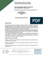 Eva. Distancia Antropología 1-2018