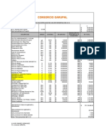 análisis unitarios y presupuestos obras