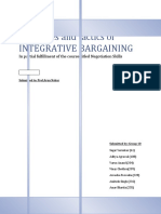 Negotiation Skills Group 10 Integrative Bargaining