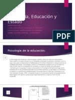 Psicología, Educación y Estado 2