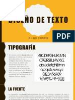 Diseños de textos
