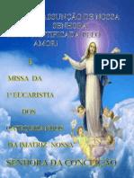Missa da 1ª Eucaristia 2013 Matriz