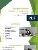 Enfermería Basada en Evidencia EBE