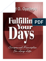 Fulfilling your Days - David Oyedepo