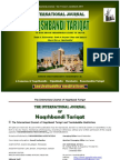 International Journal of Naqshbandi Tariqat