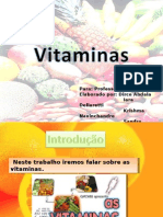 Biologia PPT - Vitaminas I