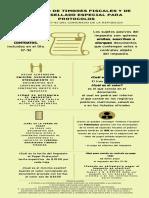 Infographic/ infografía impuesto al timbre y papel sellado