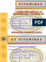 Biologia PPT - Vitaminas V