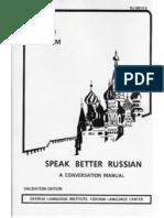 Speak Better Russian