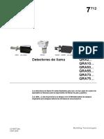Detector de llama QRA por radiación UV - Siemens