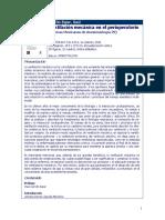 Carrillo. CMA29 Ventilación mecánica en el perioperatorio-FT