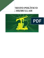Nuevo Manifiesto Politico de Hezbollah Un Llamado a Los Oprimidos Del Mundo