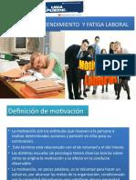 MOTIVACION,RENDIMIENTO  Y FATIGA LABORAL.pptx