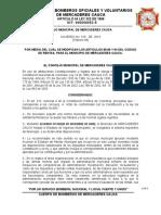 CONCEJO MUNICIPAL DE MERCADERES CAUCA ACUERDO