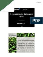 A representação da imagem digital