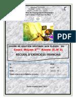 RECUEIL D'EXERCICES LECTURE CM2-1